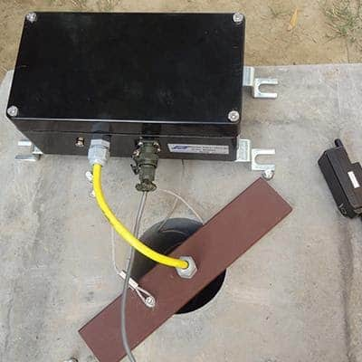 Groundwater level monitoring with ESCL-10VT data logger