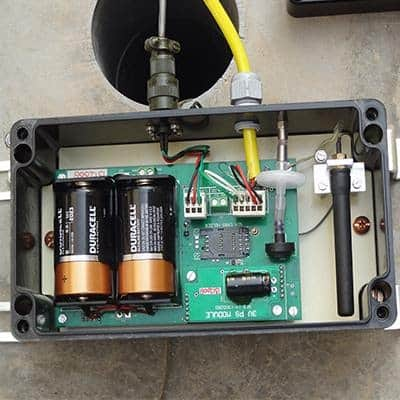 How does a data logger work