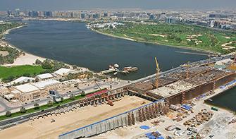AL Garhoud Maintenance Facility for Marine Light Vessels at Dubai Creek