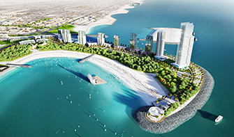 Dubai Water Canal Infrastructure Package-3 Canal and Coastal Works