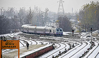 Udhampur Srinagar Baramulla Rail Link