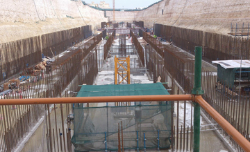 Doha Metro Rail Construction Site