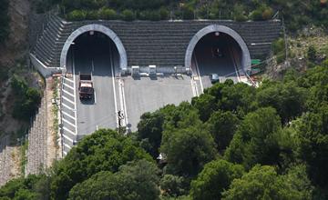 Anthochori Tunnel Greece