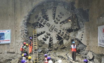 Chennai Metro Tunnel Machine