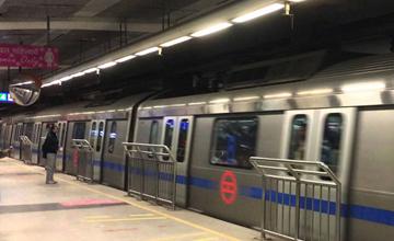 Delhi Metro Station