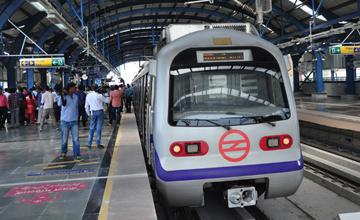 Delhi Metro India
