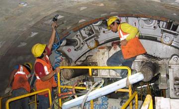 Delhi Metro Tunnels