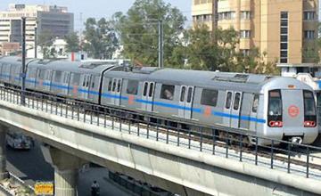 Delhi Metro Flyover
