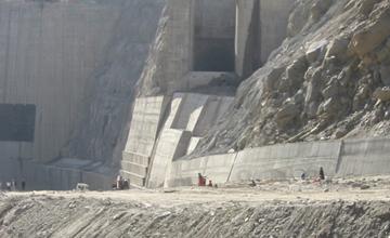 Dhauliganga Dam Construction