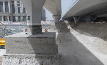 Dubai Water Canal Construction