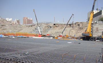 AL Masjide Al Haram Construction Saudi Arabia