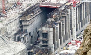Gibe-III Dam Construction