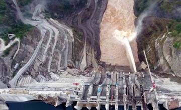 Gibe-III Dam Construction Ethiopia