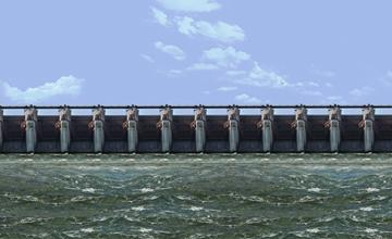 KL Rao Sagar Pulichintala Irrigation Dam India