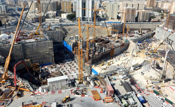 Msheireb Station Construction