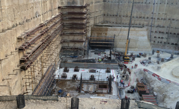 Msheireb Station Construction Site