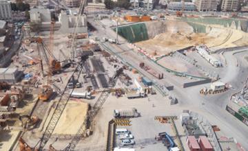 Msheireb Station Construction Work