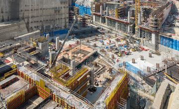 Msheireb Station Construction Doha