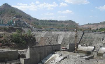 Middle Vaitarna Dam Construction