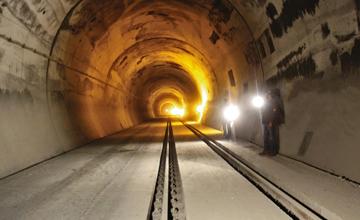 Pir Panjal Railway Tunnel India