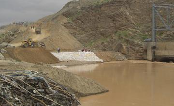 Salma Dam Construction
