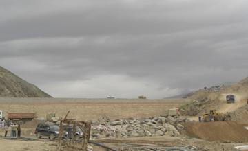 Salma Dam Afghanistan Construction