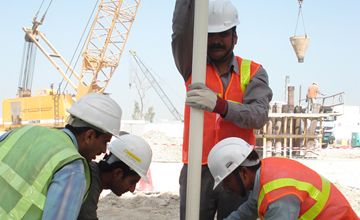 Sheikh Zayed Highway Construction