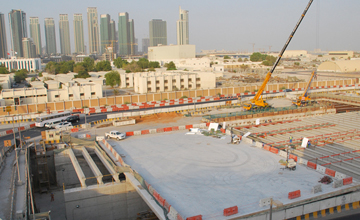 Sheikh Zayed UAE Highway Construction