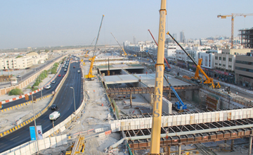 Sheikh Zayed Tunnel Abu Dhabi Construction