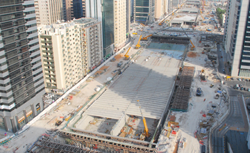 Sheikh Zayed Highway Construction UAE
