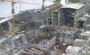 Subansari Lower Dam Construction