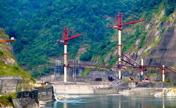 Subansari Lower Dam Construction India