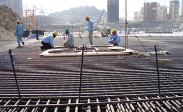 Teesta Stage-V Dam Construction