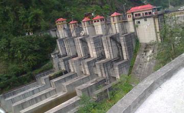 Teesta Stage-V Dam India