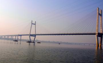 Yamuna Bridge, Naini-Allahabad