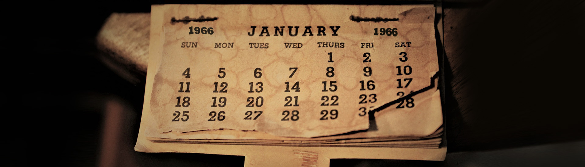 Calendar 1966
