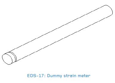 EDS-17 Dummy strain meter